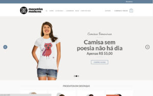 Site Macumba Moderna - Loja virtual de camisas estamparia